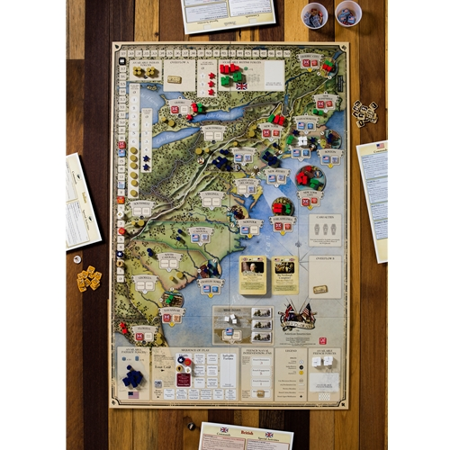 GMT Games - Liberty or Death: The American Insurrection, 3rd