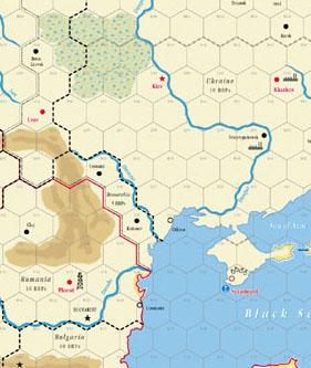GMT GAMES: A world At War Map